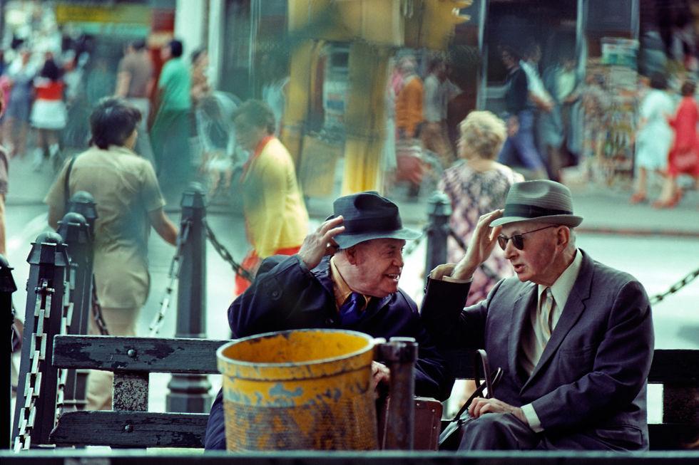 Hat Conversation, Melbourne 1974