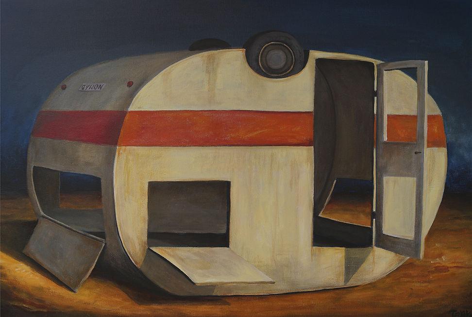 Tank Art - Dead Caravan