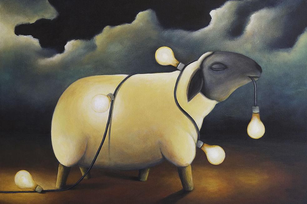 Tank Art - Party Sheep