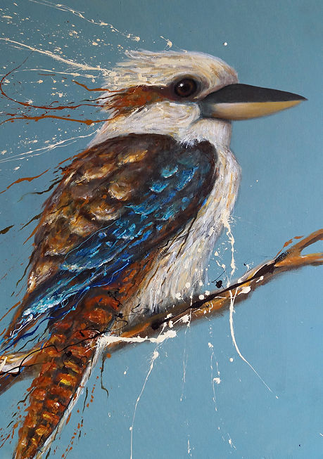 Tank Art - Bird Series - Kookaburra