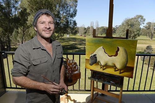 Andrew Donaldson of Tank Art