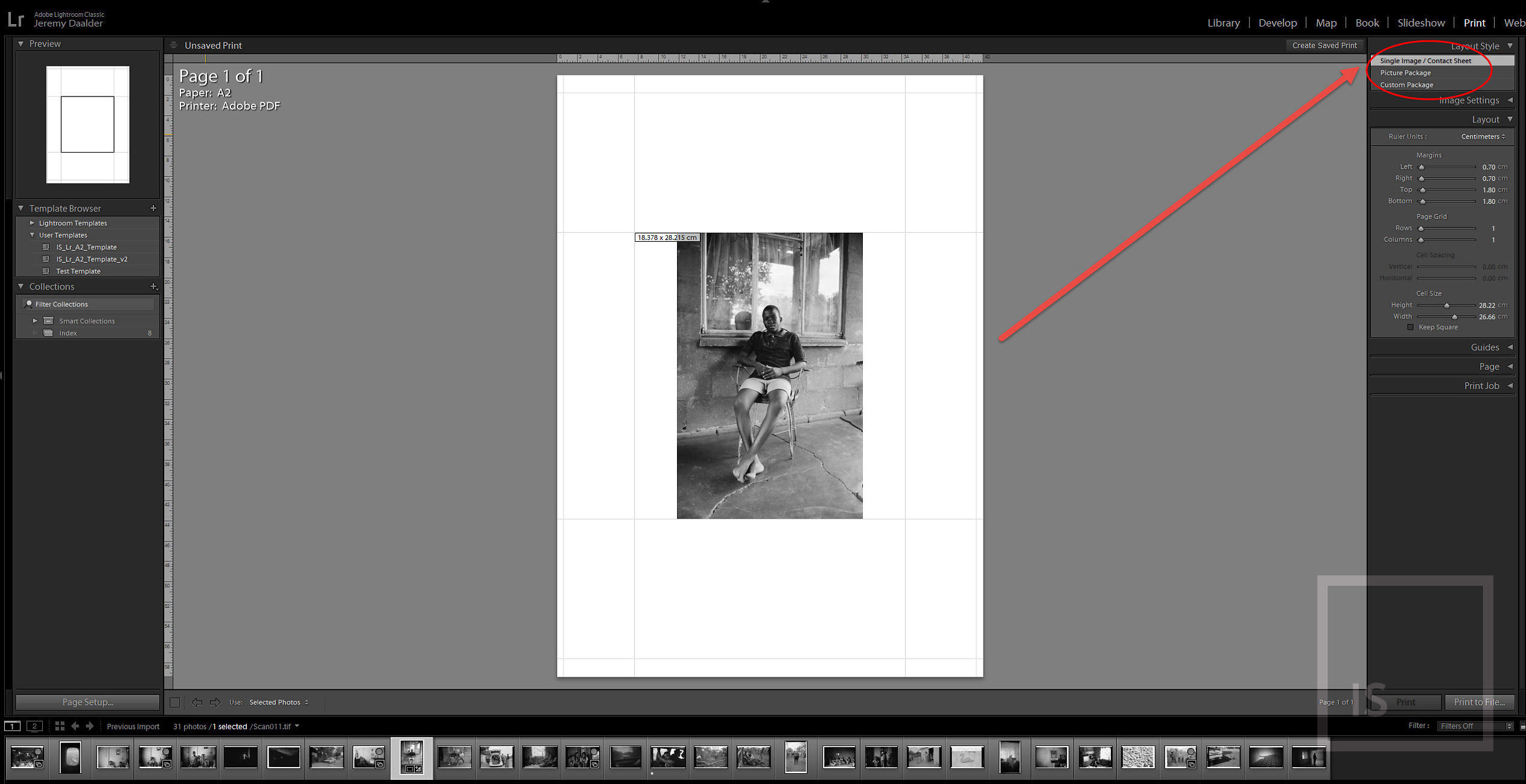 Exporting Fine Art Print Files from Adobe Lightroom… | Image