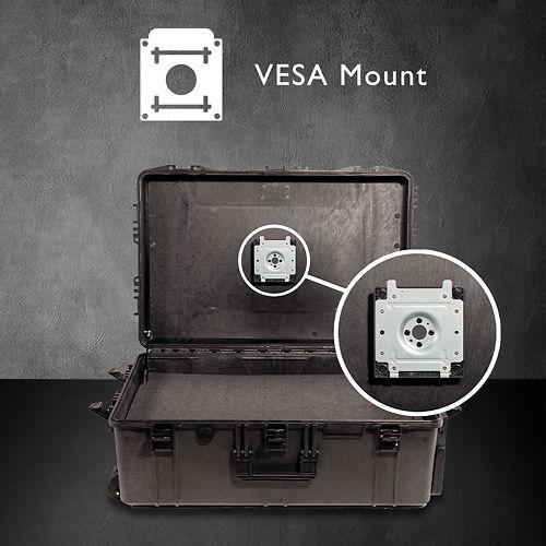 Ben Q Color Accurate On The Go Photographer Monitor Suitcase sx 1 Vesa Mount