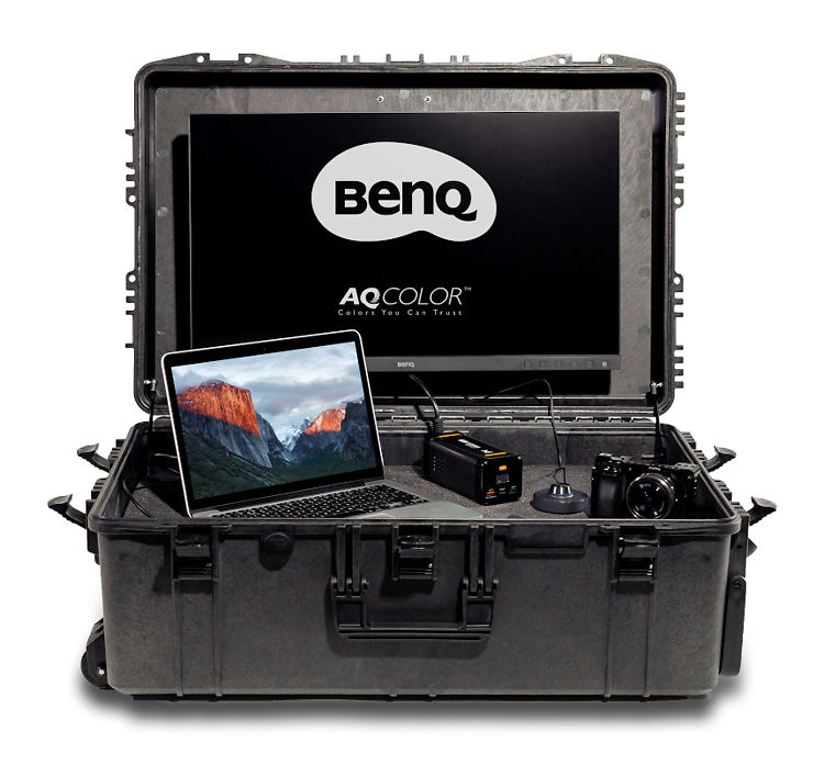 BenQ SX-1 On The Go Monitor Suitcase