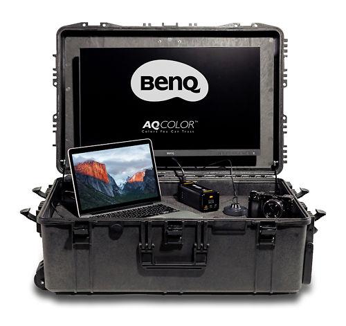 BenQ SX-1 On The Go Monitor Suitcase Master Image
