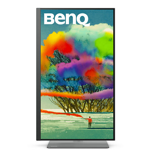 Ben Q PD2720 U 27 Inch Monitor Portrait Front