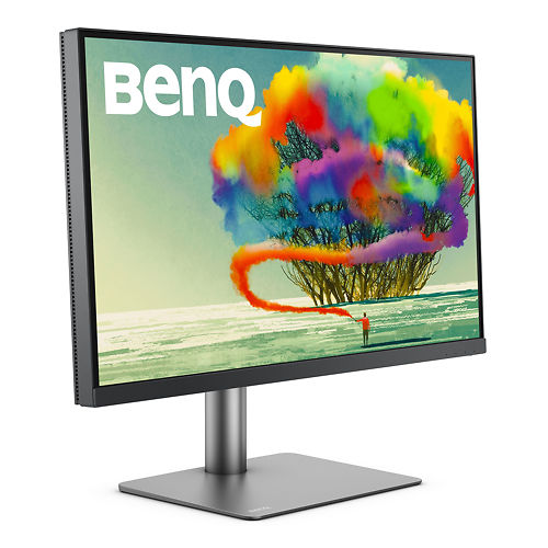 Ben Q PD2720 U 27 Inch Monitor Right 45