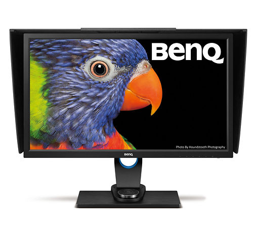 BenQ SW2700PT 27 Inch Monitor Front View