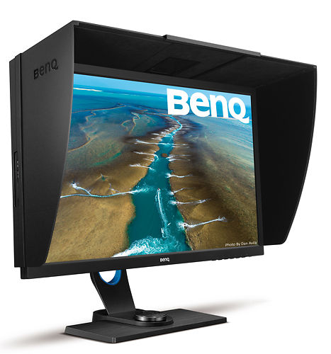 BenQ SW2700PT 27 Inch Monitor 45 Degree Front View