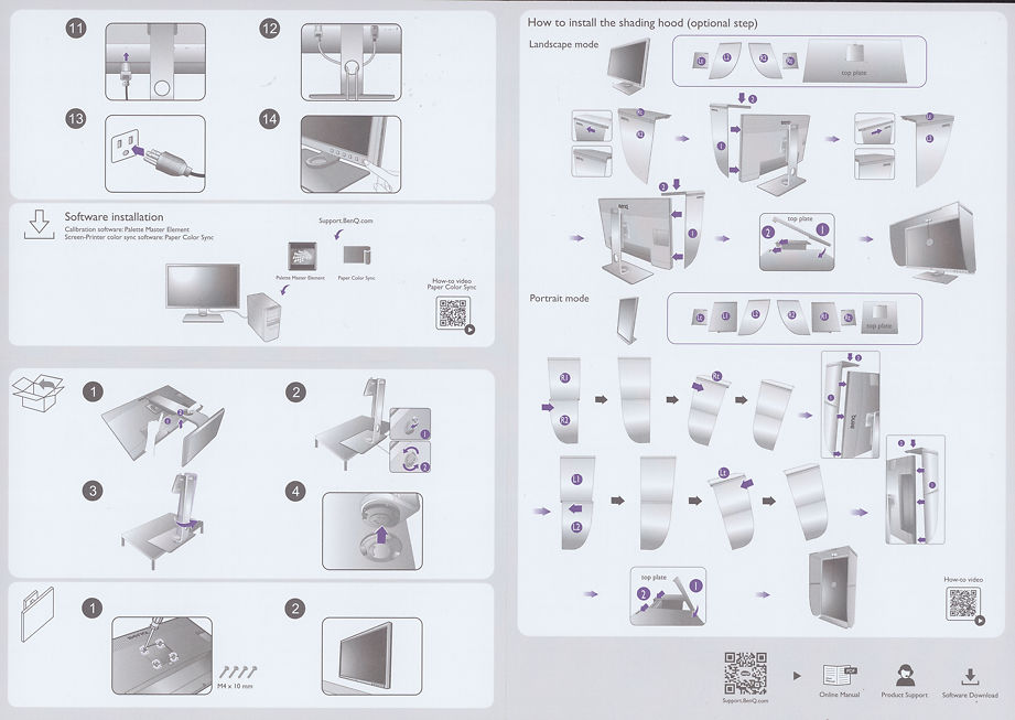 Ben Q SW271c Quick Start Guide Inner