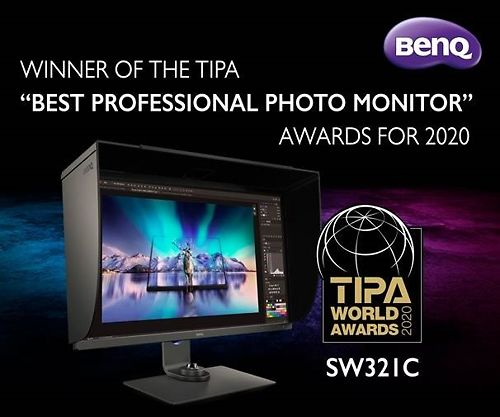 Ben Q SW321c Wins TIPA Best Photo Monitor 2020