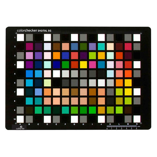 Calibrite ColorChecker Digital SG Master Image