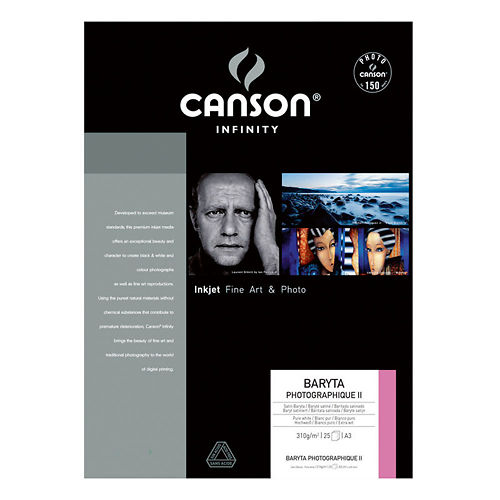 Canson Infinity Baryta Photographique II 310gsm Master Image