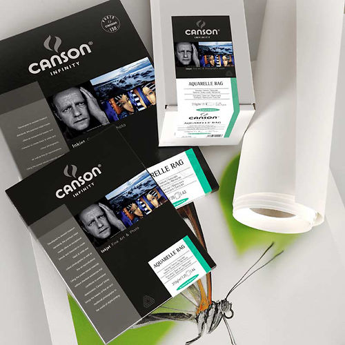 Canson Infinity Aquarelle Rag 310gsm - A4 50 sheets with light damage Master Image