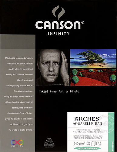 Canson Infinity Arches Aquarelle Rag 240gsm