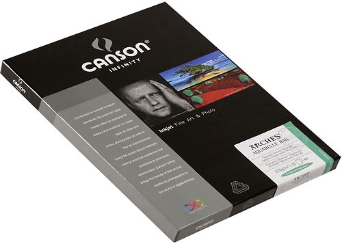 Canson Infinity Arches Aquarelle Rag 310 gsm Side View