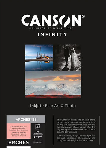 Canson Infinity Arches 88 310gsm Master Image