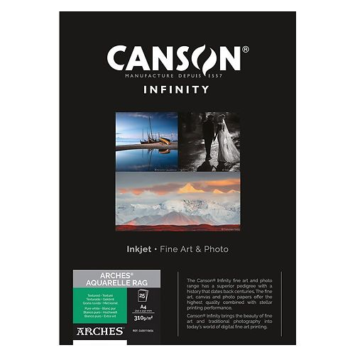 Canson Infinity Arches Aquarelle Rag 310gsm Master Image