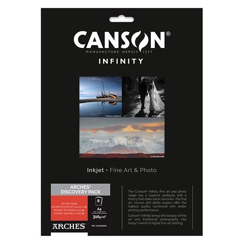 Canson Infinity Arches Fine Art Discovery Pack Master Image
