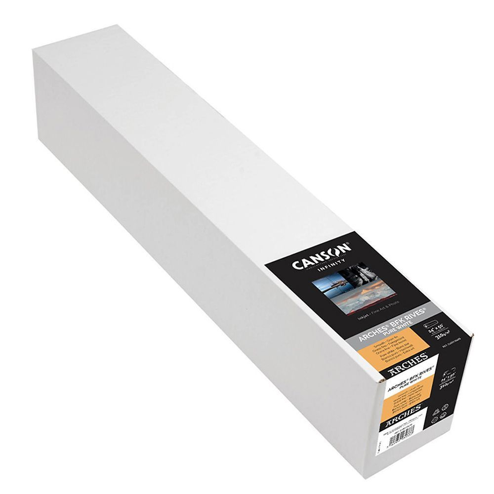 Canson Infinity Arches BFK Rives Pure White 310gsm Image