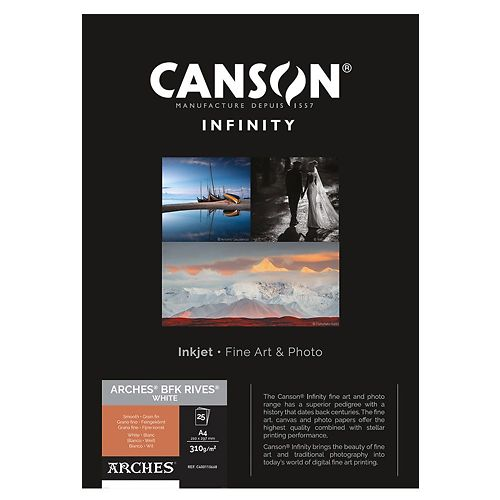 Canson Infinity Arches BFK Rives White 310gsm Master Image