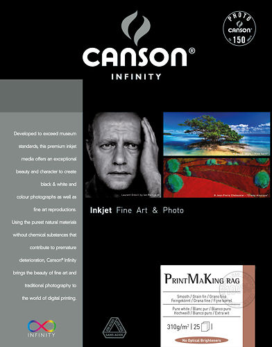 Canson Infinity PrintMaking Rag (BFK Rives) 310gsm