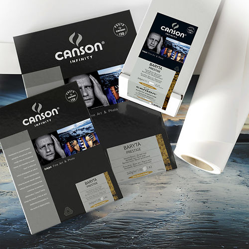 "Canson Infinity Baryta Prestige 340gsm 24"" 10m Sample Roll Master Image"