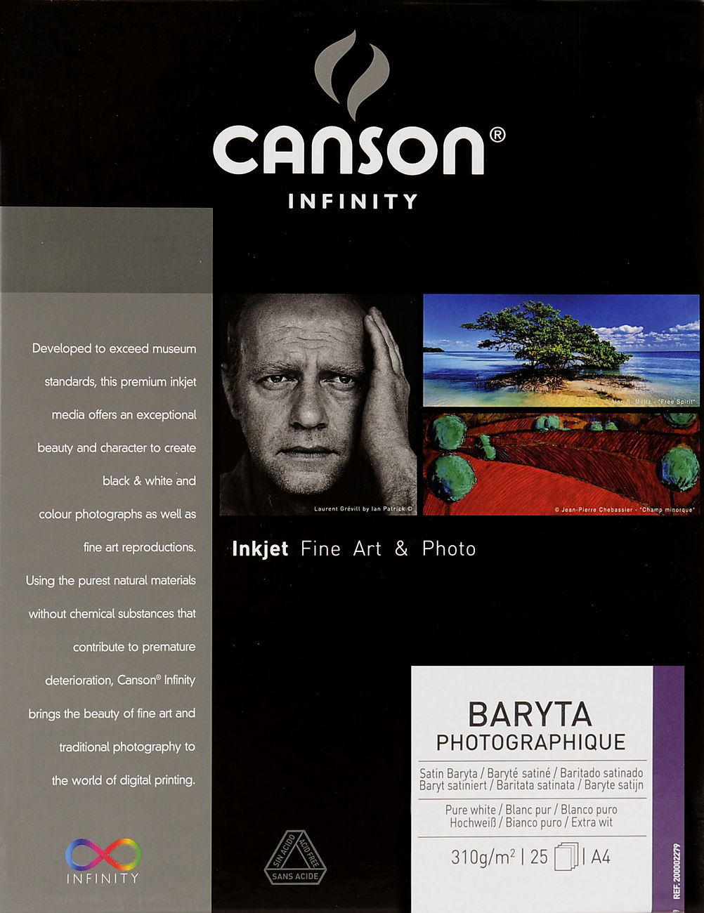 Canson Infinity Baryta Photographique 310gsm Image