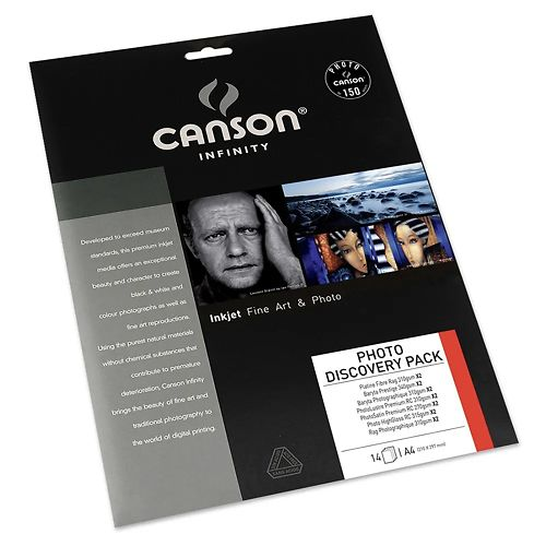 Canson Infinity 2 Sheet Photo Discovery Pack
