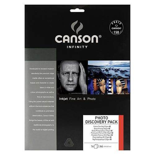 Canson Infinity 2 Sheet Photo Discovery Pack Master Image