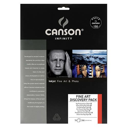 Canson Infinity 2 Sheet Fine Art Discovery Pack Master Image