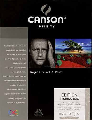 Canson Infinity Edition Etching Rag 310gsm