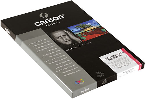 Canson Infinity Photo High Gloss Premium RC 315gsm Side View