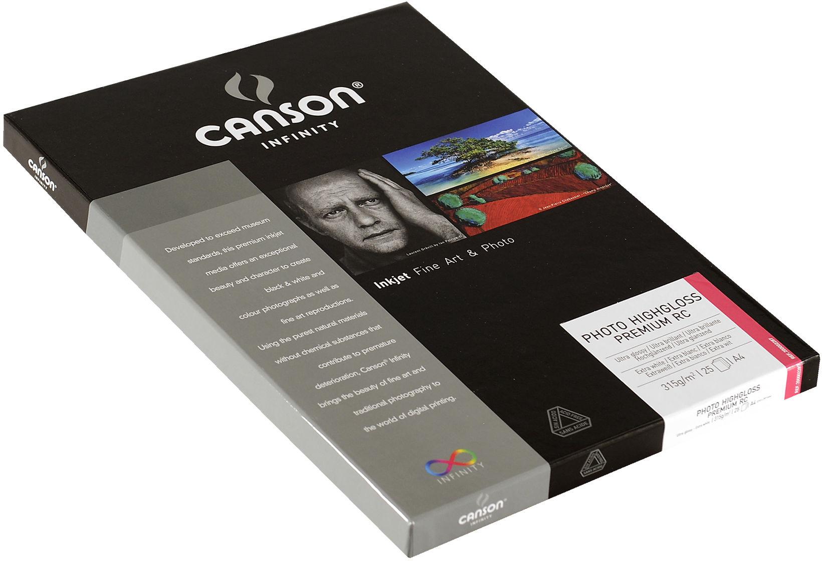 Canson Infinity Photo HighGloss Premium 315gsm Image