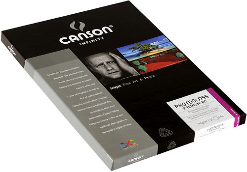 Canson Infinity PhotoGloss Premium RC 270gsm Side View