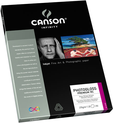 Canson Infinity PhotoGloss Premium RC 270gsm