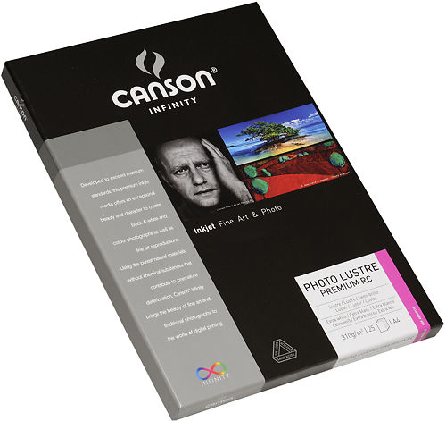 Canson Infinity Photo Lustre Premium RC 310gsm Side View