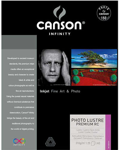 Canson Infinity Photo Lustre Premium RC 310gsm