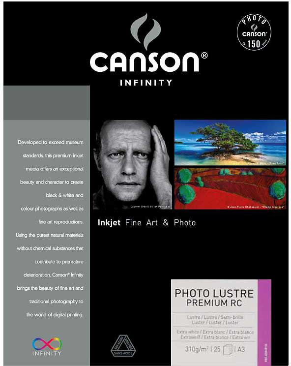 Canson Infinity PhotoLustre Premium 310gsm Image