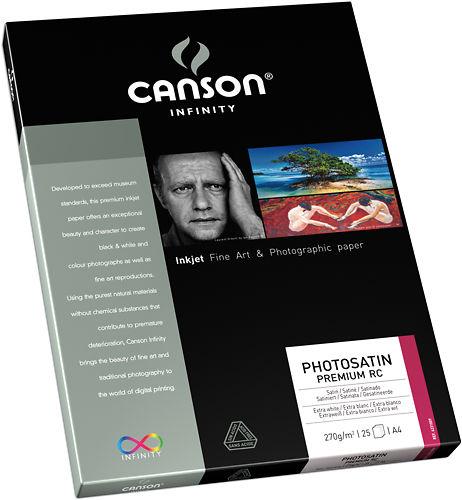 Canson Infinity PhotoSatin Premium RC 270gsm