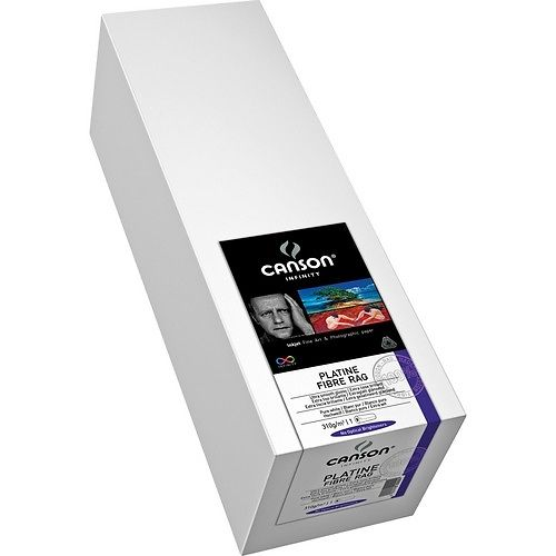Canson Infinity Platine Fibre Rag 310gsm 44in Roll - 50% Off Clearance Master Image