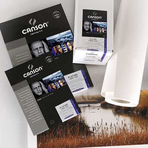 "Canson Infinity Platine Fibre Rag 310gsm 44"" Roll Clearance Master Image"