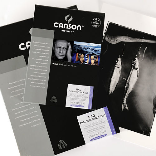 Canson Infinity Rag Photographique Duo 220gsm A3 Clearance Master Image