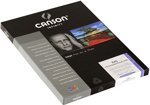 Canson Infinity Rag Photographique Duo 220gsm Side View