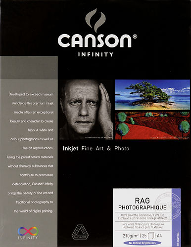 Canson Infinity Rag Photographique 210 GSM
