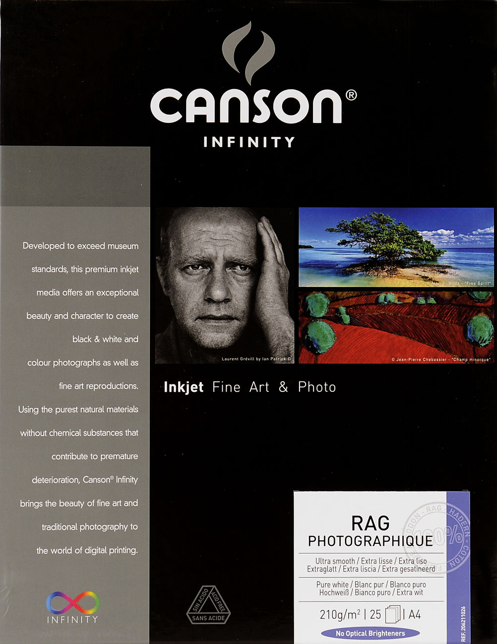Canson Infinity Rag Photographique 210gsm Image