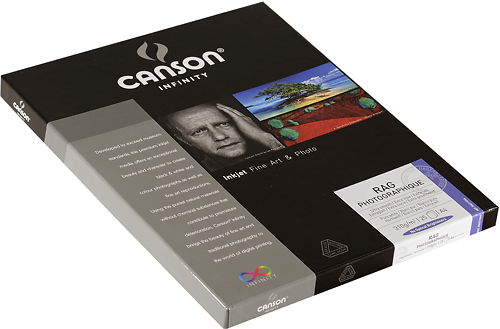 Canson Infinity Rag Photographique 310 GSM Side View
