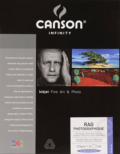 Canson Infinity Rag Photographique 310 GSM
