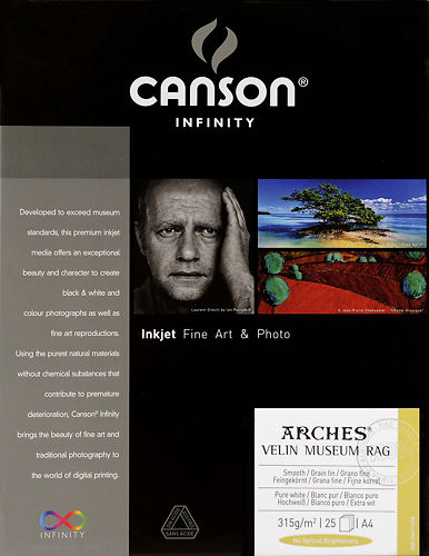 Canson Infinity Arches Velin Museum Rag 315 GSM