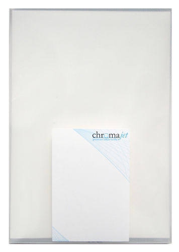 Chromajet Metallic Bright White 255gsm Master Image